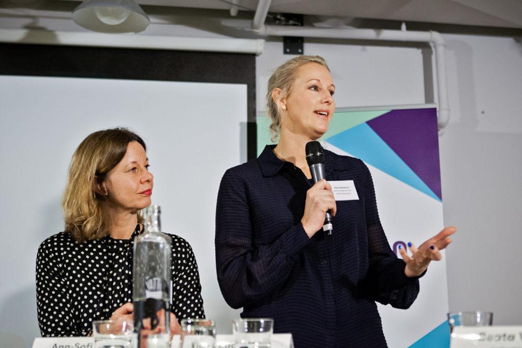 Ann-Sofie Sjöberg och Klara Adolphson