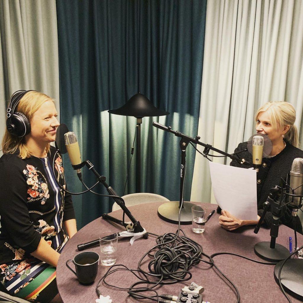 Karin Bjerde och Ann-Therése Enarsson