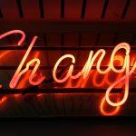 Change, förändring